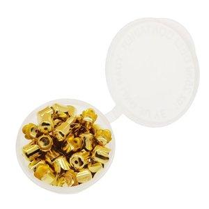 160 adet Altın / Gümüş Kaplama Spacer Boncuk, Boncuk Cap Çiçek Kablo Uçları DIY Püskül Sonu El Sanatları Suit Kolye, Bilezik, Küpe
