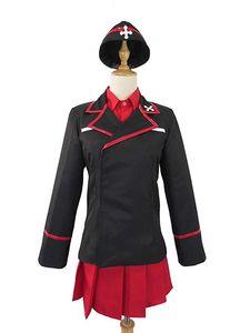 Girls und Panzer Nishizumi Maho High School Uniform Team Clothes Cosplay Costume