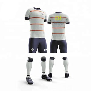 2019 College League Football Sets Star Name +Number (No Badge) Football Jerseys Shorts,Custom Name Number 1-23 Soccer jersey uniform