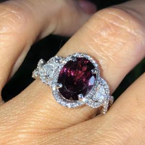 20200415 bijoux Nouveau incrusté de zircon bague pour le mariage Saint Valentin