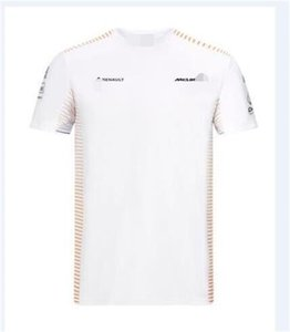 مكلارين F1 ماكلارين ماكلارين 2020 فريق T-shirt قصير فريق كم سباق بدلة بدلة