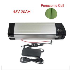 Silver Fish Panasonic Ebike литиевая электрическая батарея 48v 15ah с зарядным устройством