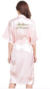 TJ01 Large Size S3XL Gold Letter Bride Mother of the Groom Get Ready Women's Underwear Underwear Rbes Bridal Party Gifts Bathrobe Dressing