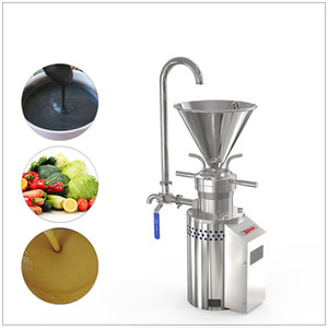 Small commercial colloid mill peanut butter making machine electric chili sauce sesame beans grinding machine 110v 220v nut milk machine