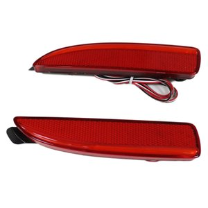 2 개 LED 후면 범퍼 반사판 브레이크 정지 라이트 자동차 램프 자동 전구 Mazda6 Atenza Mazda2 DY 마즈다 3 악셀 (CA240)