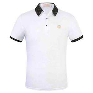 2020 neue Bermuda High-Price-Verkauf Sommer Hot Sale Polo-Shirt US-amerikanische Flagge Marke Polos Männer Kurzarm Sport Polo