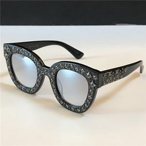 Novo Venda designer óculos gato Charming dos olhos grandes diamantes Frames cortar pequenos diamantes Mulher Elegante Estilo TOP de Qualidade 0116