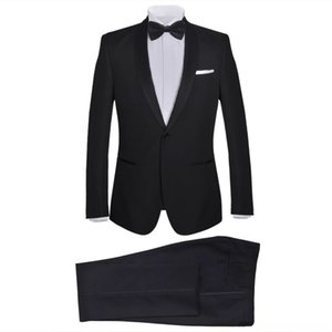 Tuxedo with bow tie evening dress size 48 Other Fashion Accessories mens black 2PIECES Tuxedo with bow tie evening dress size 48 Other Fas