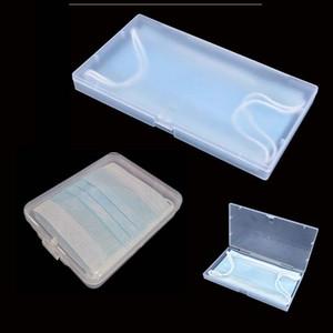 Plastikgehäuse Box Transparent Staubdichtes rechteckigen Maskenaufbewahrungsbehälter Jewery Kleinteile Verpackung Blade-Display-Fläschchen Schachteln - 0149Pack