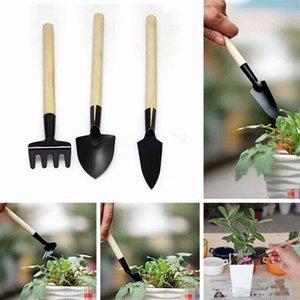 3pcs Lot Mini Shovel Survival Spade Garden Supplies Creative Portable Plant Small Rake Beach Soil Scoop Growing Decor Gardening Tool