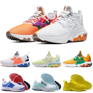 air presto react Koşu ayakkabıları erkekler kadınlar Kahvaltı DHARMA Üçlü Beyaz Siyah Sarı Teal Tonu Psychedelic Lava erkek eğitmenler Spor Sneakers