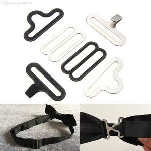 Großhandel Fliege Clip Hardware Cravat Clips Hakenverschluss für Krawatte Strap