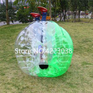 Frete grátis 1,7 m 0,8 milímetros bolha PVC inflável bola de futebol Adesivos para Bubble Ball Futebol bolha bola de futebol de