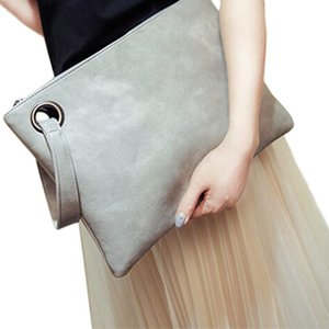 Fashion solid women's clutch bag leather women envelope bag clutch evening bag female Clutches Handbag Immediately shipping K220G