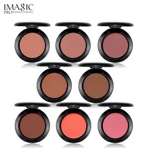 IMAGIC Makeup خدود بودرة الخدود 8 ألوان أحمر الخدود بودرة مضغوطة بلون مختلف