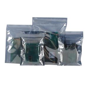 Дешевые Антистатический алюминиевая сумка для хранения молния Замок Resealable Антистатический чехол для электронных аксессуаров Пакет ESD сумки