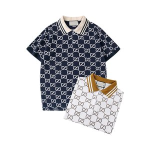 Yüksek kaliteli ürünleri 2020 Lüks Erkek Tasarımcı Polo T shirt 20SS Yaz Kısa Sleeve çevirin Aşağı Yaka Kısa kollu Polo Gömlek Tops