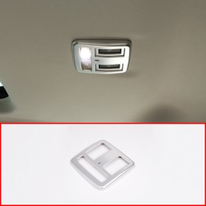 For Discovery 5 3.0 V6 2017 Center Console Cup Holder Cover Trim ABS Matte Chrome Interior Accessories