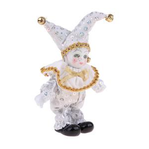 8inch victorienne Porcelaine Poupée Céramique Debout Eros Poupées Clown Poupée Jouets bébé Souhaitant Doll Ornement d'anniversaire d'enfants blanc cadeau