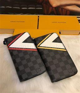 Hot sell Designer luxury handbags fashion lady single zipper cheap wallets short purse men women wallet card holder bags