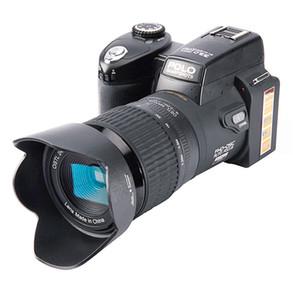 Invia DHL-2021New Protax Polo D7100 Fotocamera digitale 33MP Full HD1080P 24x Optical Zoom Auto Messa a fuoco automatica Camcorder professionale