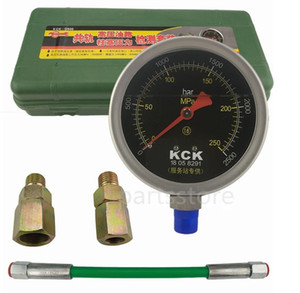 0-250Mpa Common rail tube pipe pressure test gauge High Pressure tester for diesel oil circuit common rail plunger