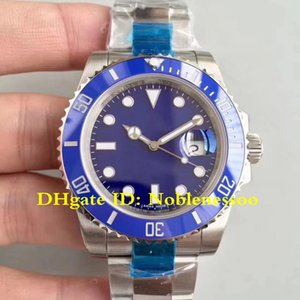 3 Color V7 Version N fábrica Eta 2836 reloj automático para hombre 40mm 116610LN 116619LB 116610 Cerámica Bisel luminosos deporte de buceo Relojes Hombre