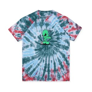 19ss Travis Scott Astroworld ALIEN T-SHIRT Casual T-shirt Mode Plage Sport Tee Eté Rue Hip Hop Manches Courtes HFLSTX450