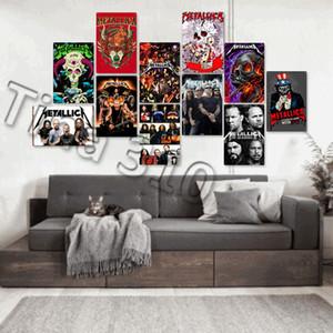 Rock Band Tin Signs Clásicos pared vieja placa de metal Club de hogar de la pared del arte del metal arte de la pintura de la decoración Fotos HomewareT2I5357