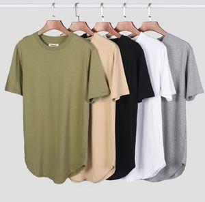 8 couleurs Mens Designer T-shirts BROUILLARD ESSENTIALS Hip Hop Solid Color Mode normal Casual manches courtes en vrac Tee S-XL