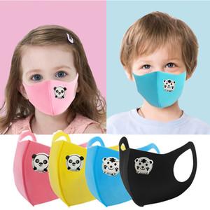 Bambini maschere di disegno del fronte con la respirazione valvola ragazzi e ragazze Spugna Spugna Smog traspirante antipolvere Student Mask XD23488