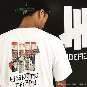 UNDEFEATED JAPAN T Shirts Brand Mens Designer T-shirt Sumo Printed Harajuku Short Sleeve Hip Hop Oversize Tee for Men Women Couple Summer