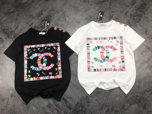 Paris G delle donne 2020 vestiti dal design di lusso della maglietta T Shirt Donne Streetwear Felpa Outdoor Casual T-shirt 5.14