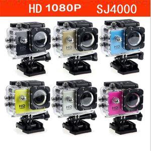 New 1080P Full HD Action Digital Sport Camera SJ4000 2 Inch Screen Under Waterproof 30M DV Recording Mini Sking Bicycle Photo Video Cam