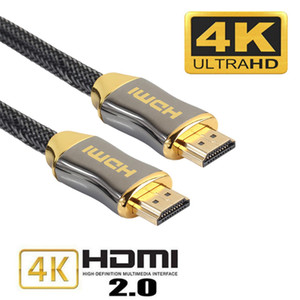 Cavi Ultra High Speed ​​4K / 60Hz HDMI 4K 18 Gbps di ritorno audio (ARC) Funzione CL3 per HDTV PC Laptop