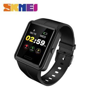 SKMEI Sport Smart Watch Männer Bluetooth Bunte Smartwatch Männer Fitness Schlaf Tracker Relogio Inteligente Für Android IOS W37