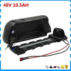 도 20a 및 BMS 2A 충전기 13S3P 500W 750W 48V 10.5AH 다운 튜브 48 볼트 배터리, 리튬 배터리 셀 3500MAH 18650