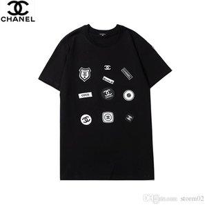 Новый Men'sdesigner футболка мужская одежда бренд футболка мода лето высокое качество Письмо печати роскошные Мужские рубашки Clothin