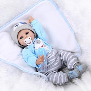 55CM Doux Silicone Reborn Bébé Poupée Fille Jouets Bébés Réalistes Boneca Poupées De Mode Bebe Reborn Menina