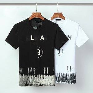 Balma in Mens T Shirts Black White Design Of The letter Mens Fashion Stylist T Shirts Top Short Sleeve S-XXXL ds02