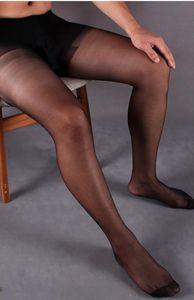 Hot Man Thin Strumpfhosen feste Stocking Erotische Männer erigierten Penis Nase Dick Tasche Lange Legging Socken