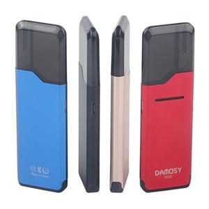 Original Mini E-cig Kits Damosy Mini Kit pods system vape device with 2ml Cartridges 400mAh Battery Built in VS Suorin air