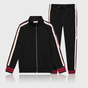 Ternos Sports Terno Moletons 2020 Itália Luxury Designer Fatos Marca jaquetas Moda Mens Medusa Sportswear Treino