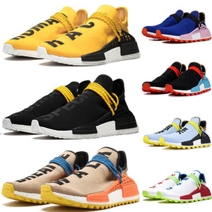 2019 Adidas NMD Human Race Menschenrennen Trail Pharrell Williams Herren Damen Solar INSPIRATION Pack Mutter Frieden Designer Mode Sportschuhe 36-47