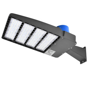 أضواء موقف السيارات 300W LED - 36000LM Daylight 5000K LED Shoebox Pole Light (with Photocell)، Waterproof IP65، LED Street Light Lamp