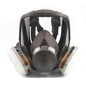 Neue 6800 Typ Industrielle Malerei Sprühen Atemschutzmaske Sicherheit Arbeit Filter Staubdicht Full Face Gasmaske Formaldehyd Schutz