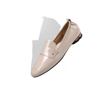 2019 New Women's Genuine Leather Hot Sell Round Toe Ladies Flat Handmade Casual Fashion Shoes