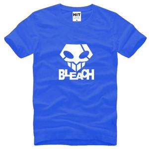 Mort Bleach Le fantôme Masque Step Dance T-shirts manches courtes hommes Nouveau-O Neck coton T-shirt des hommes Anime Hip Hop T-shirt Homme