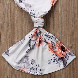 Newborn Baby Girls Floral Nightgown Sleepwear Robe Long Sleeve Sleep Bag Clothes
