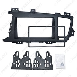 2Din Car DVD Radio Fascia Frame for KIA Optima K5 (LHD) 2010+ Dashboard Installation Mount Frame Panel Trim Kit #5163